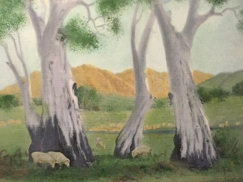Ghost Gums by Gregory Royce Robertson