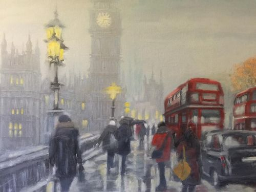 London, Afternoon by Gregory Royce Robertson