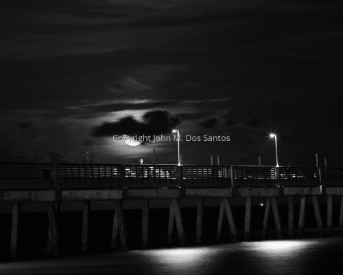 Dania Pier Night
