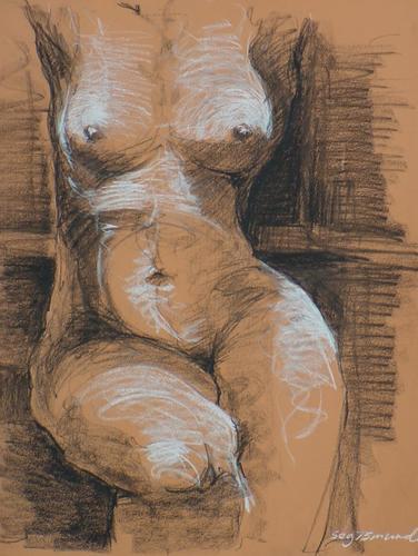 sitting female 7 by segismundoart