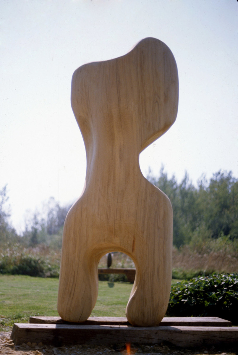 Upright Elm Form (large view)