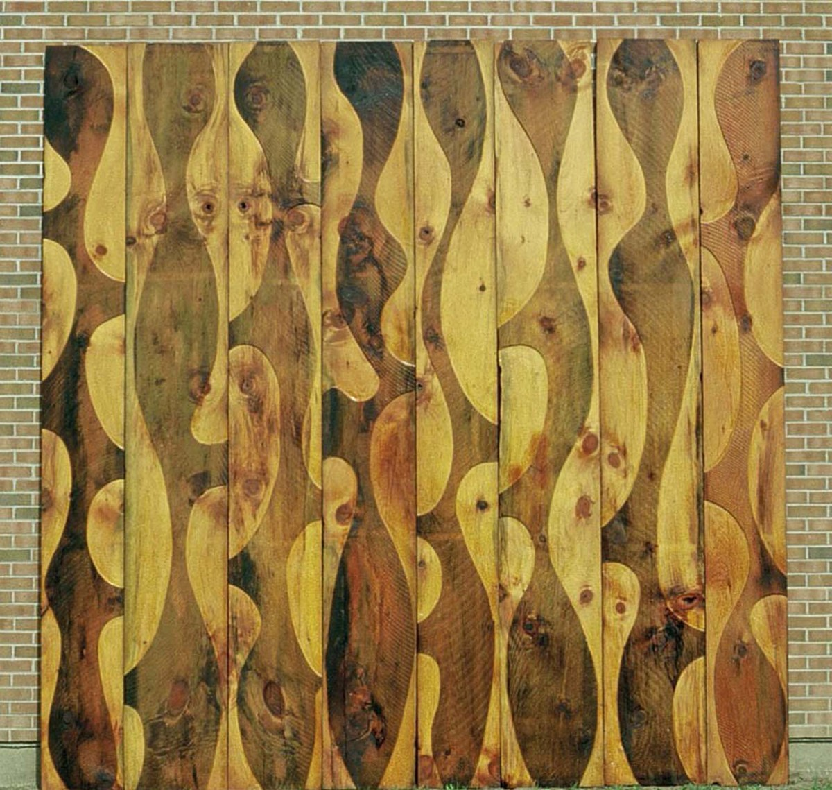 Wood Mural I (large view)