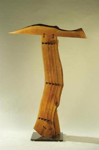 Sculpture-Wood-Chambers' Music
