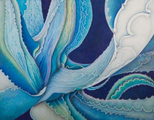 Blue Agave 14x11