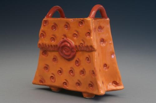 Handbag vase