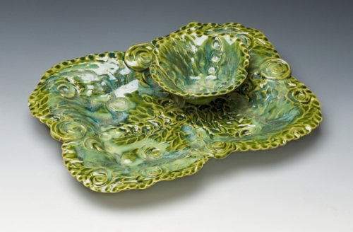 Green Chip n Dip Set