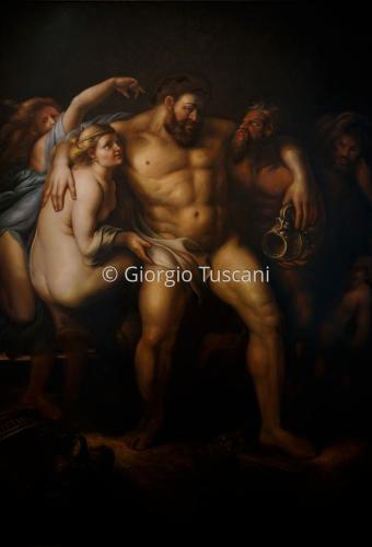 Hercules after Peter Paul Rubens
