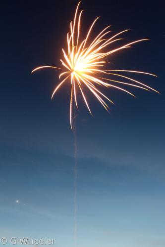 Firework by G Wheeler Photography