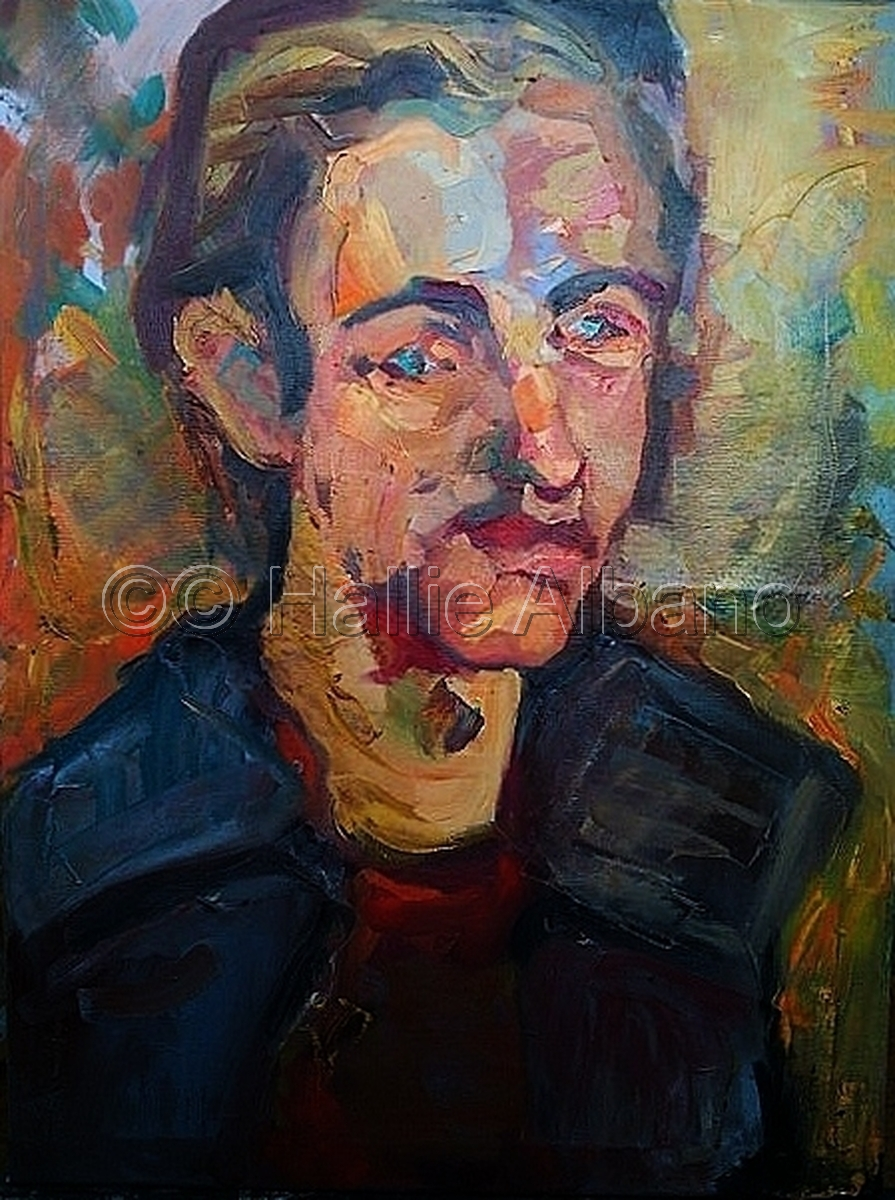 oil painting,observation based painting,realistic oil painting,fine artist,fine artisit in philadelphia,oil paintiner,student oil painter,seated pose,seated portrait,soutine (large view)