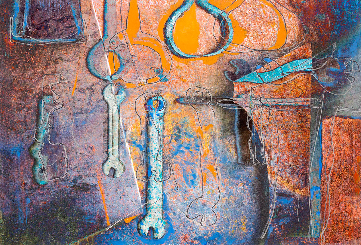The Sculptors Tools (large view)