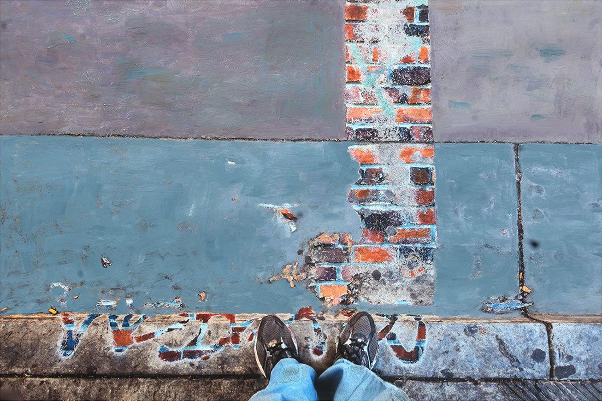 UnderFoot - Brick Graffiti (large view)