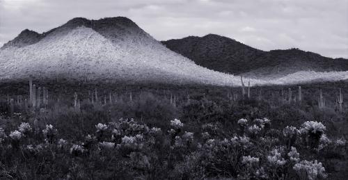 Desert Hills And Shadows - Wickenburg
