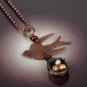 Bird & Nest Necklace (thumbnail)