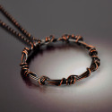 Wound Copper Necklace (thumbnail)