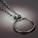Classic Circle Necklace (thumbnail)
