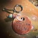 "NLGA ""LIVIN' THE DREAM"" Dog Tag (thumbnail)"