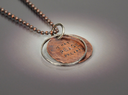 May Peace Prevail Necklace