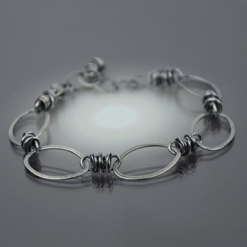 Sterling Oval Link Bracelet