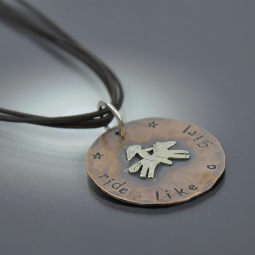 Ride Like A Girl Necklace
