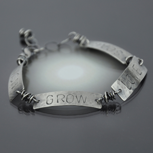 WISH GROW LOVE SOAR Bracelet