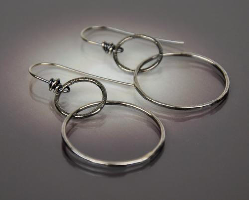 Double Hoop Earring