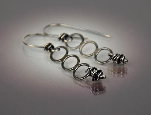 Triple Stack Earring