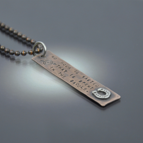 No Hour Is Wasted Necklace