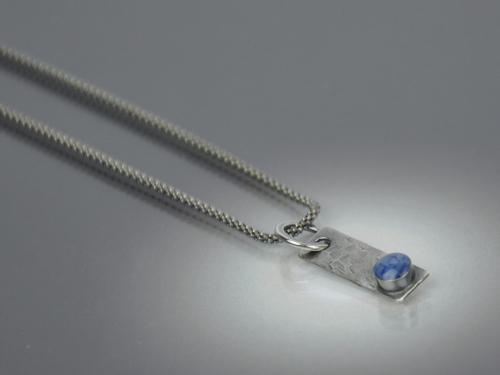 Denim Stick Necklace