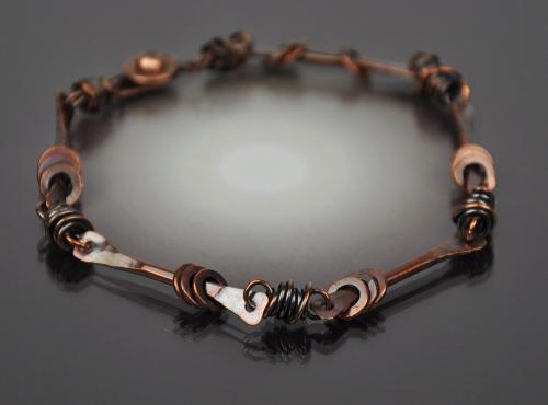Copper Stick Bracelet