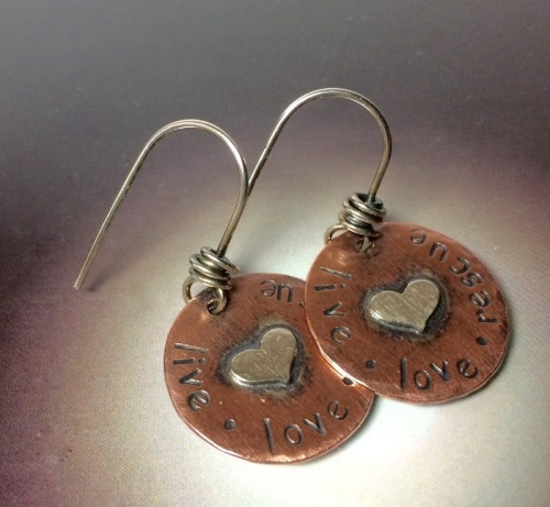RESCUE Earrings (large view)