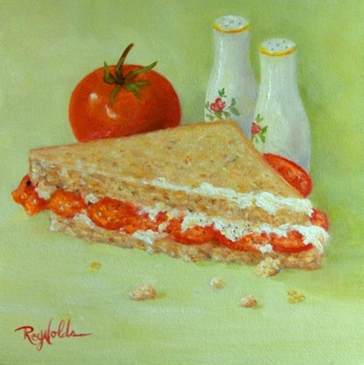 Tomato Sandwich Half (large view)
