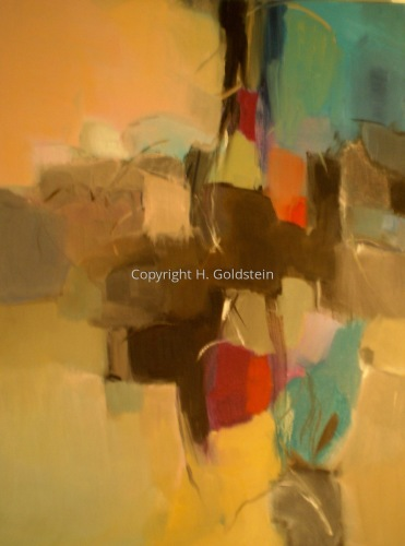 Abstract 8 by Harriet Sobie Goldstein