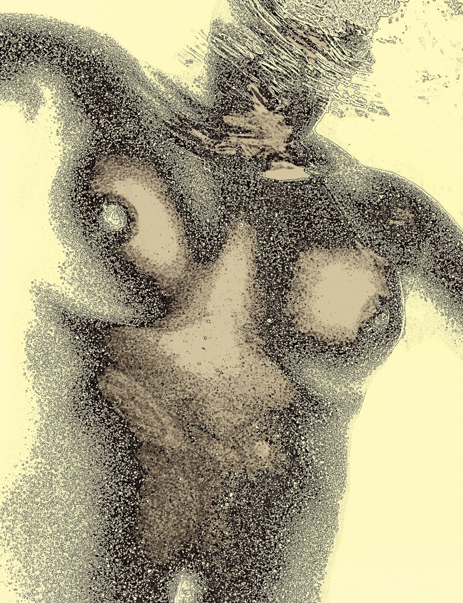 Sepia figure (large view)