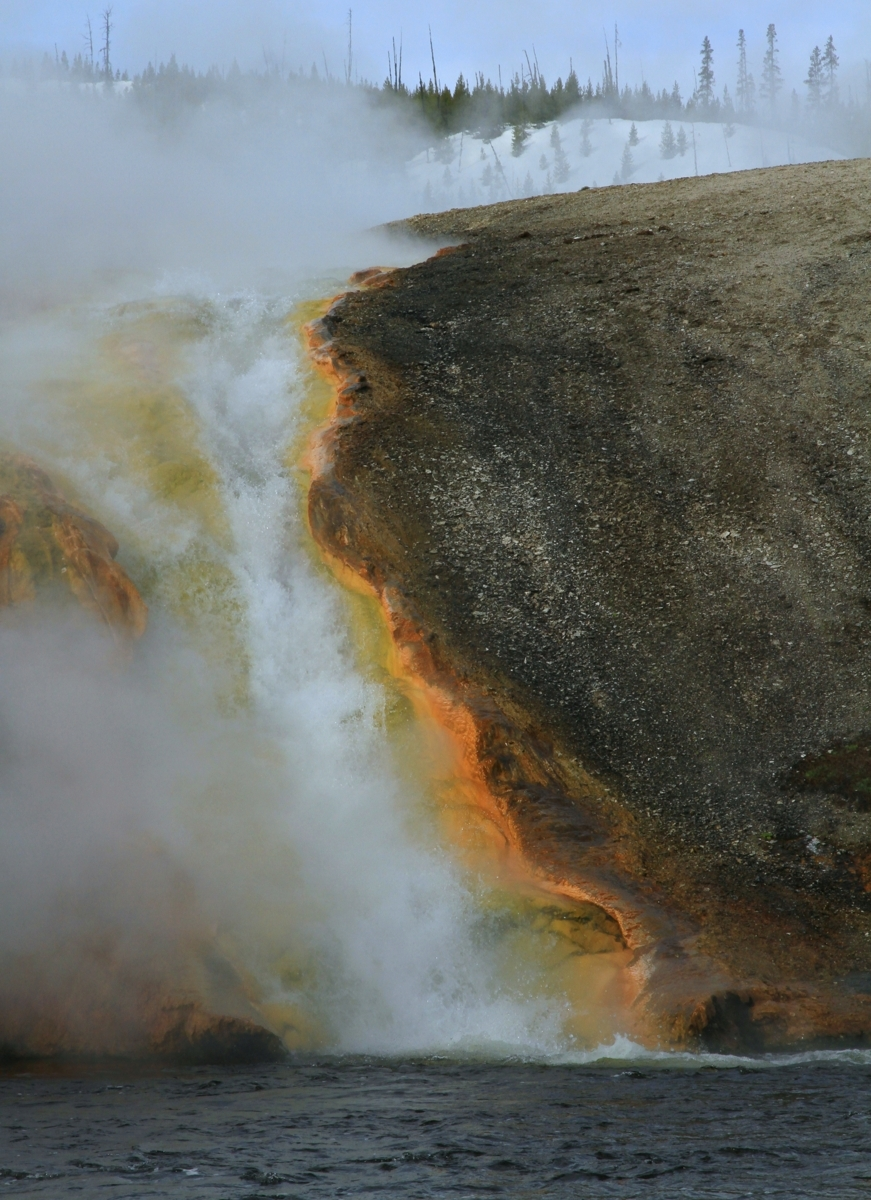 Lava river - Yellowstone (large view)