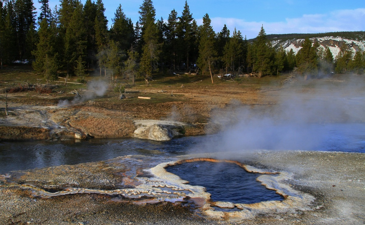 River landscape in Yellowstone (large view)