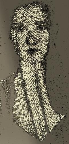 Gaba tulle portrait (large view)