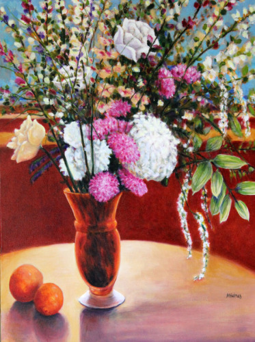 Discarded Bouquet by Marsha L. Holmes