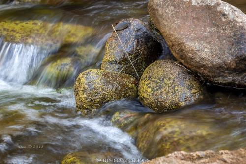 Yellow Rocks Creek. by DeeCeeCreations