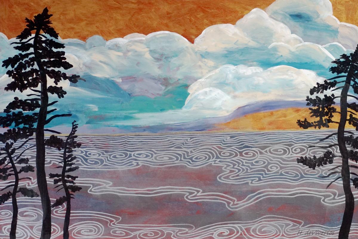 Tahoe series #4 Tahoe Rapsody (large view)