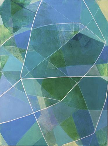 Blueprint (botanical) Leaves by Heidi Carlsen-Rogers