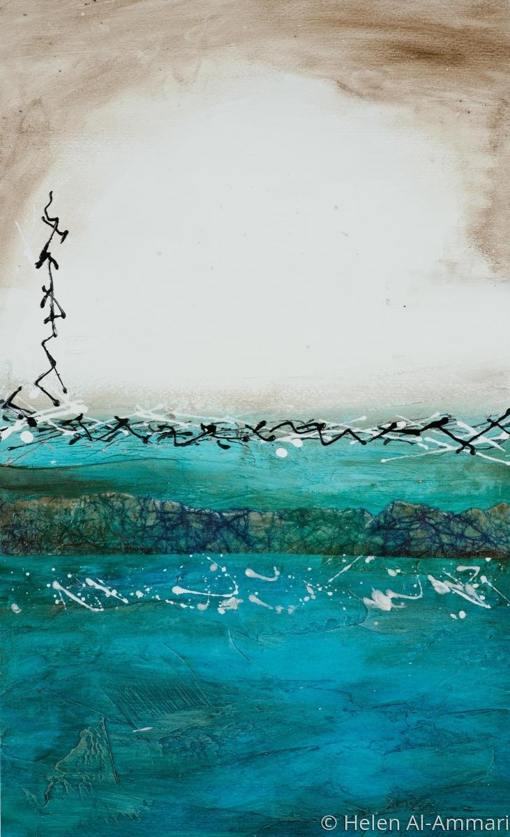 abstract, arab art, islamic art, contemporary, saudi arabia (large view)