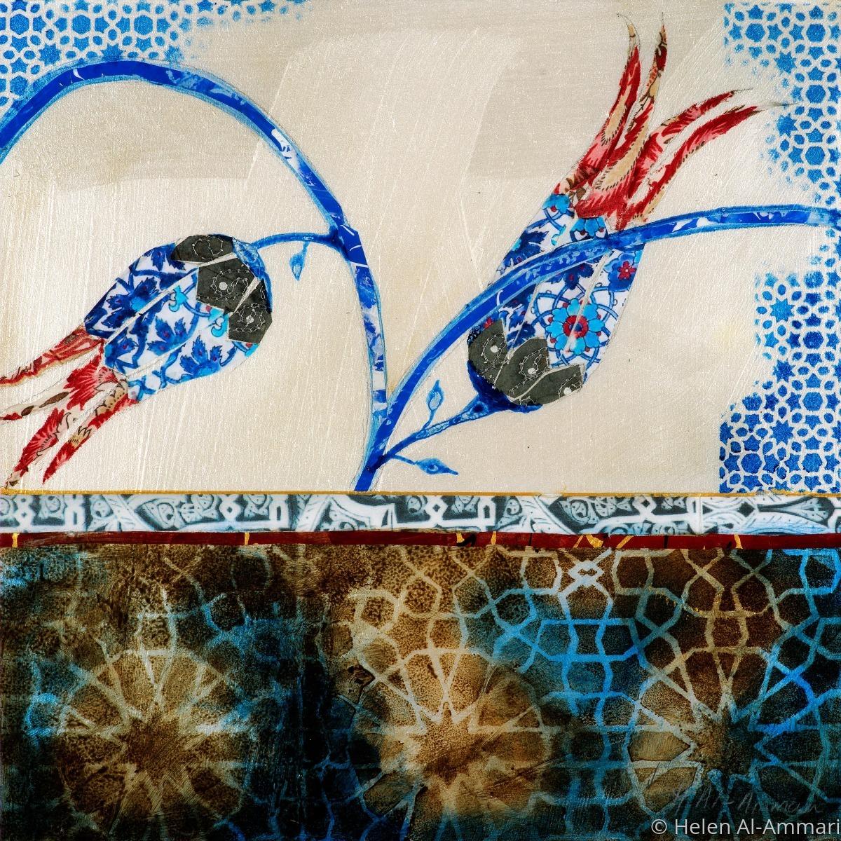 Blue Floral 2 (large view)