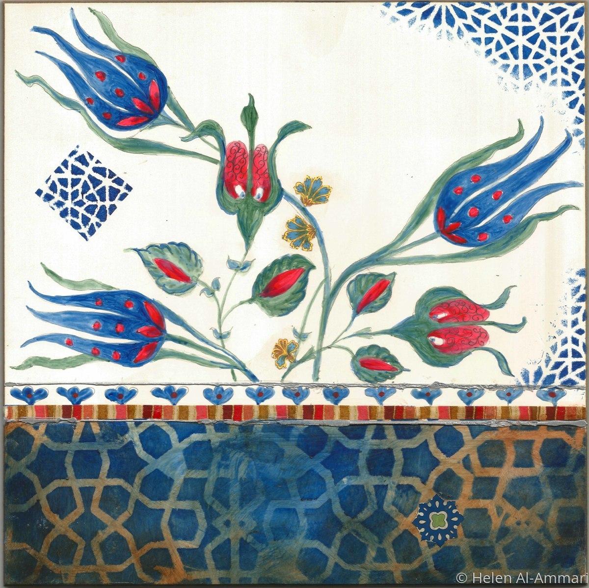 Blue Floral 11 (large view)