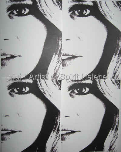 "Helene"" Andy Warhol"" (large view)"