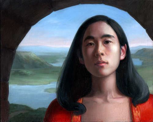 Portrait of Mayumi by Helen  Uger
