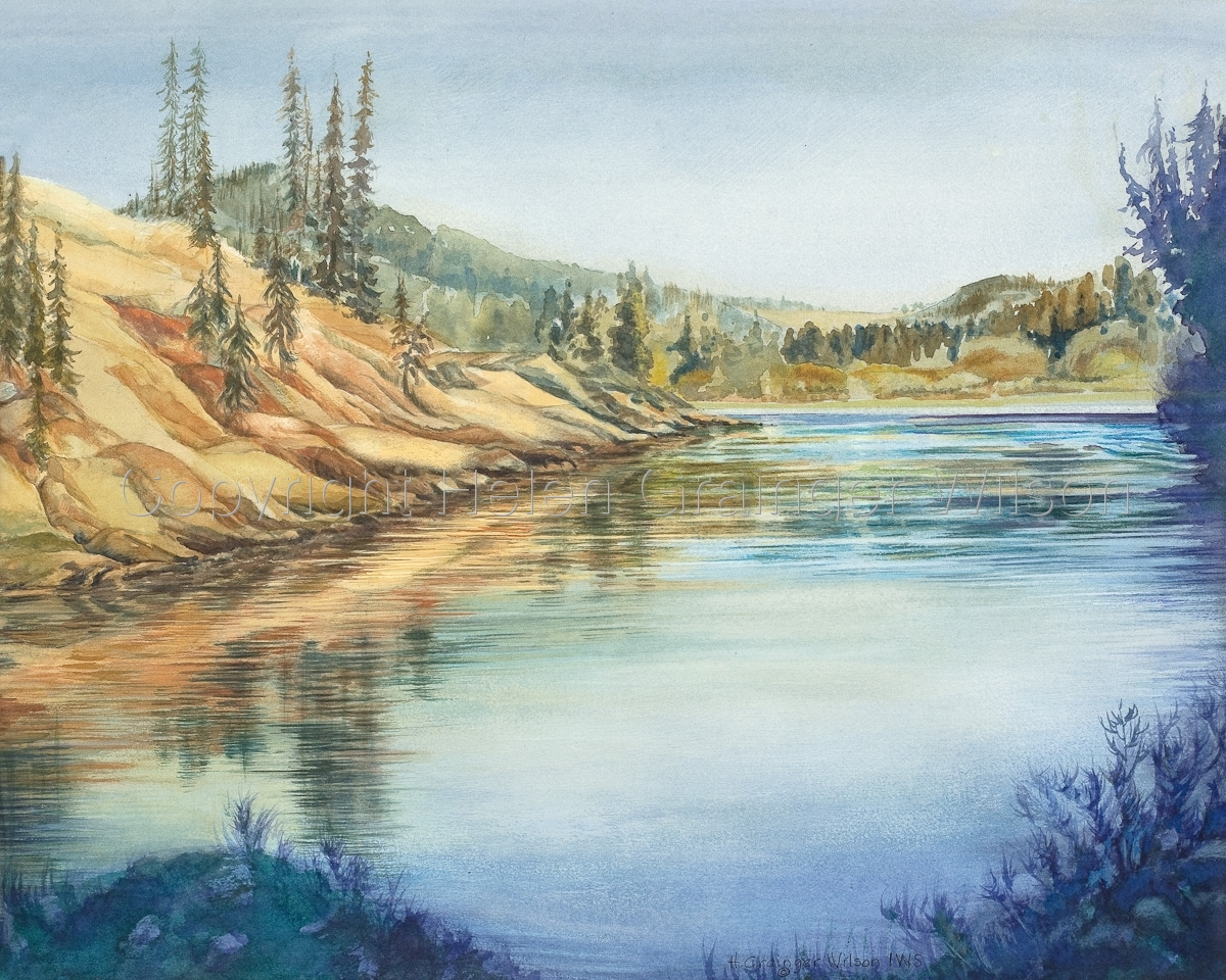 Clearwater River by Helen Grainger Wilson (large view)