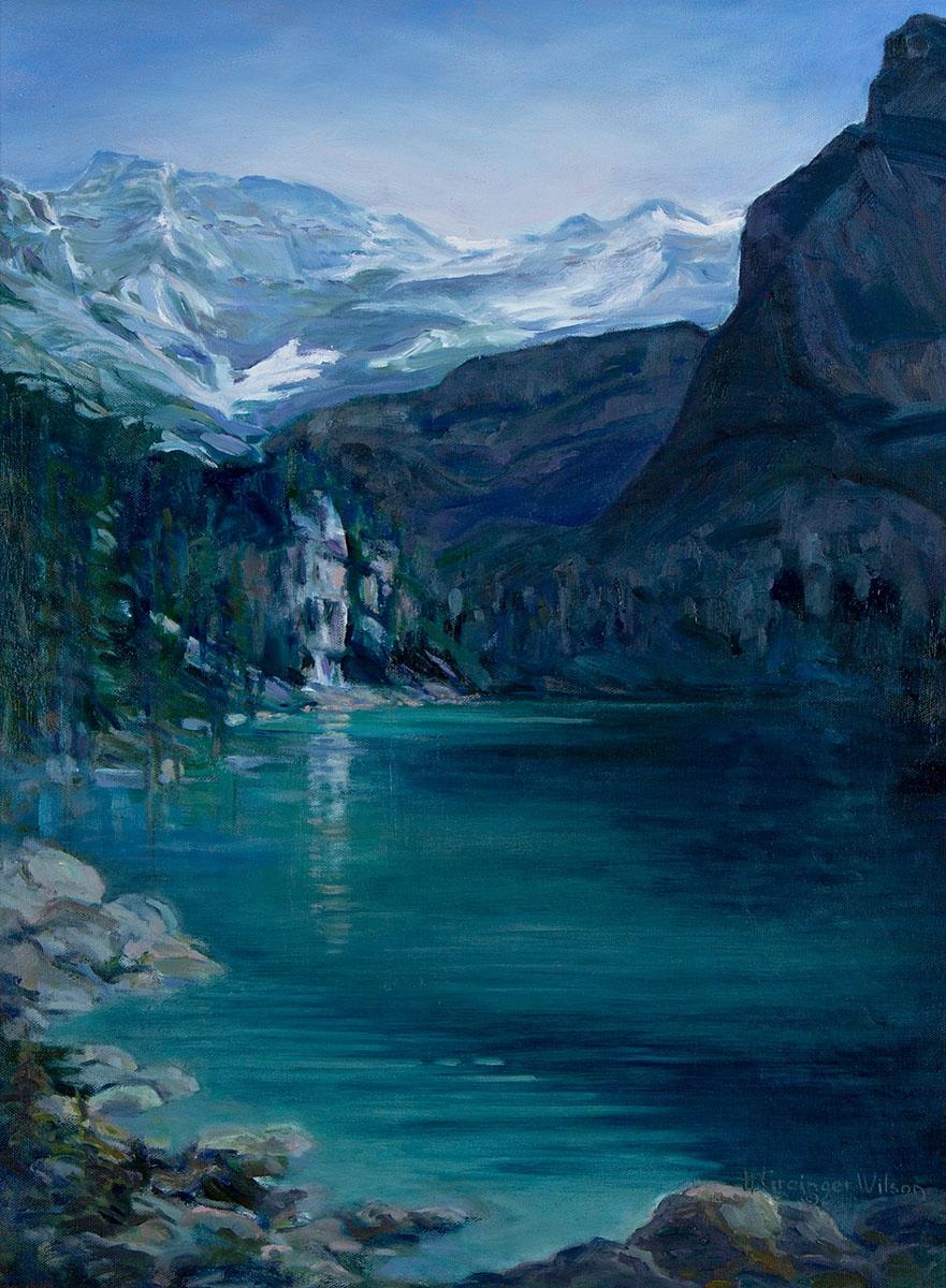 Lake O'Hara, BC by Helen Grainger Wilson (large view)