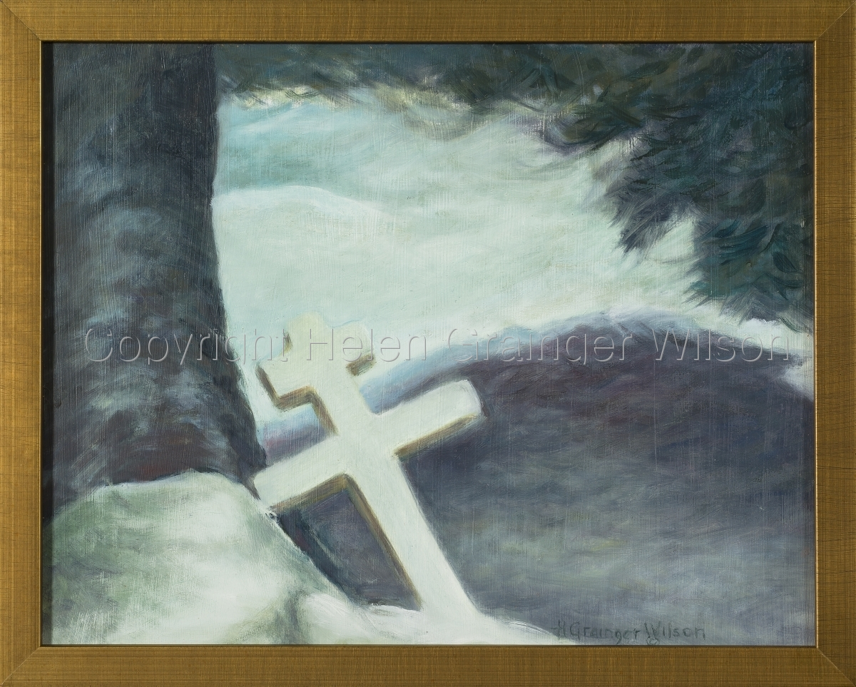 Russian Cemetery, Sitka IX by Helen Grainger Wilson (large view)