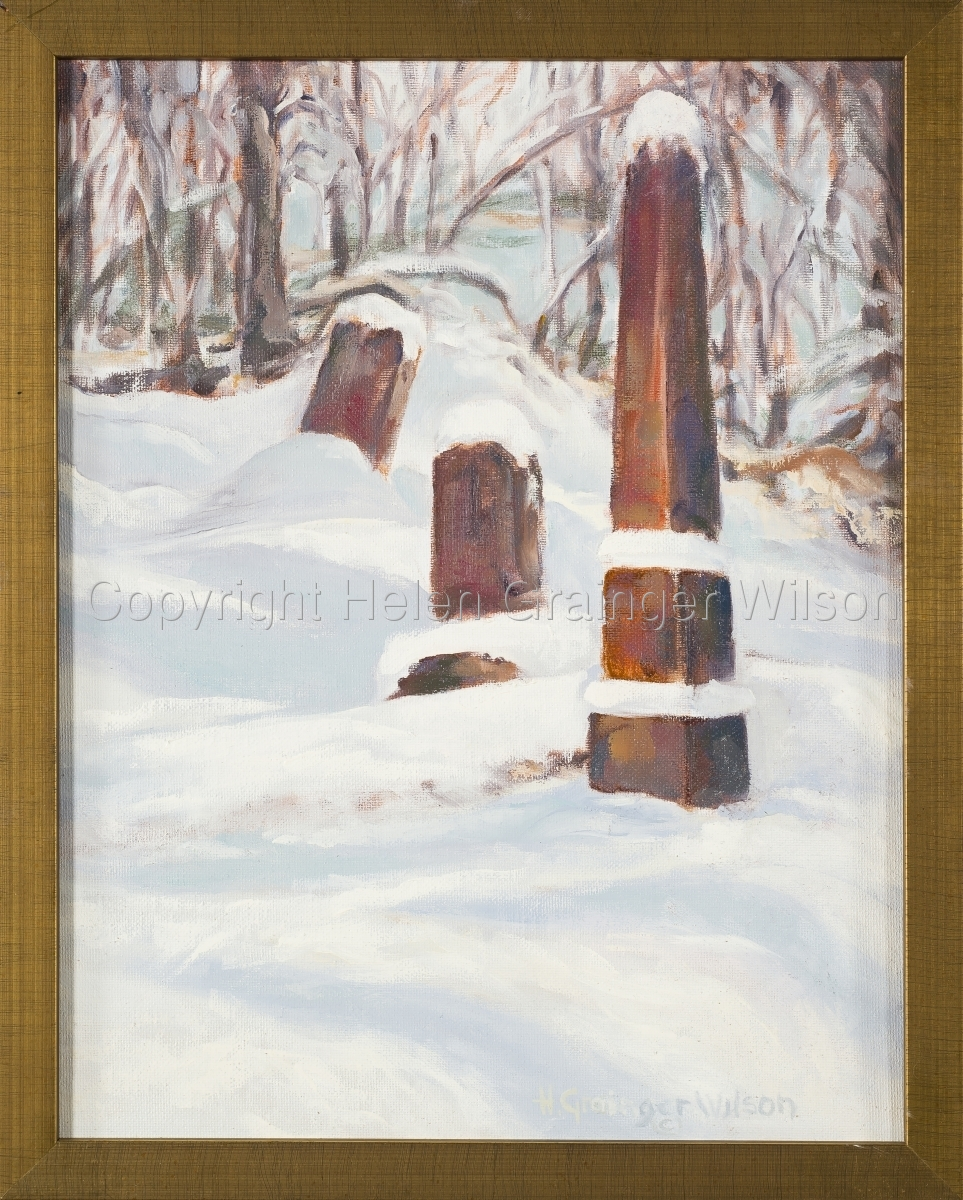 Russian Cemetery, Sitka XII by Helen Grainger Wilson (large view)