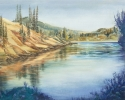 Clearwater River by Helen Grainger Wilson (thumbnail)